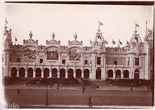 A424 Photo Citrate Original Expo Universelle Paris 1900 Vue palais céramique