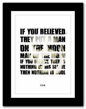 More details for r.e.m.- man on the moon ❤ song lyrics typography poster art print - a1 a2 a3