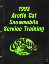 1993 ARCTIC CAT SNOWMOBILE TRAINING SERVICE MANUAL