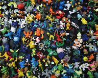 lot of 100 Pokemon MINI FIGURE (BY random ) 2CM -3CM high #sf4