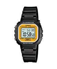 New Casio Watch Ladies Stopwatch Led Light LA-20WH-9A