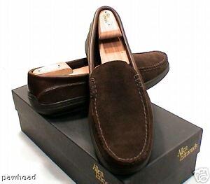 Allen Edmonds Westland Chocolate Loafer Shoe 9 D New In Box