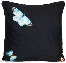 Butterflies Cushion Cover Embroidered Pillow Case Nina Campbell Silk Farfalla