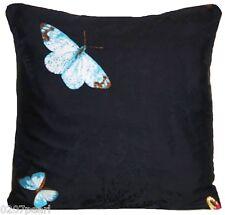 Mariposas cubierta Cojín Bordado Almohada Funda Nina Campbell Seda Farfalla
