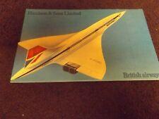 Concorde Bahrain stamp presentation Booklet by Harrison & Sons memorabilia