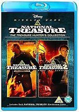 National Treasure 1 & 2 Double Pack [Blu-ray] [Region Free], DVD | 8717418345341