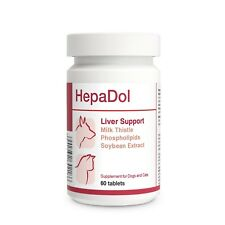 HepaDol Liver Support for Dogs and Cats 60 tablets with Milk Thistle