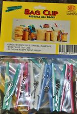 "24 Pcs.  Multi Purpose Food Clothes Kitchen Bag Plastic Clip Sealer 3 "" siz"