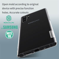Nillkin For Samsung Galaxy Note 10+Plus Clear Ultra Thin Nature TPU Case Cover