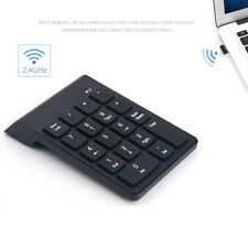 Wireless 2.4G One-handed USB 18 Keys Number Pad Numeric Keypad Keyboard For PC