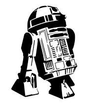 Star Wars R2D2 vinyl car Decal / Sticker