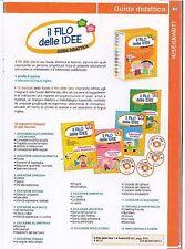 il filo delle idee 4 guide didattica insegnanti scuola infanzia -13 volumi+4CD