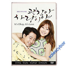 It's Okay, That's Love Korean Drama (4DVDs) Excellent English &Quality