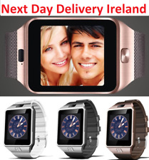 DZ09 Camera Sim Card Bluetooth Smart Wrist Watch Phone For iPhone Samsung