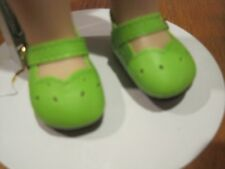 Lime Green Dress Shoes - that fit Wellie Wisher Wishers Dolls - #422