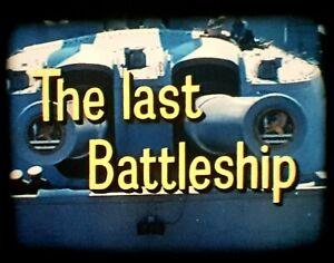 Super 8mm sound film 'The Last Battleship'. Derann.