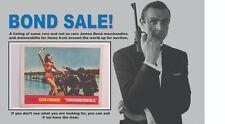 """James Bond 007 11 x 14 Lobby Card """"Thunderball"""" #6"""