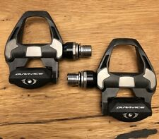 EUC MINT Pair Shimano Dura Ace PD-R9100 Carbon Road SPD-SL Pedals
