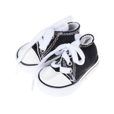 1Pair Doll Canvas Shoes Fits 18Inch American Girl Other 18 Inch Doll Kids Gift J