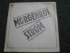 Morgenrot-Strom 7 PS-1980-Germany-Rock-45 U/min-Klappcover-CBS