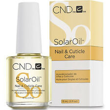 CND Nail SOLAR OIL Nail & Cuticle Conditioner 15ML ~ NEW PACKING ~