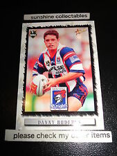 2000 SELECT NRL CARD NO.48 DANNY BUDERUS NEWCASTLE KNIGHTS