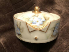 Hand Painted  ~ Rosenthal Bavaria~ Collar And Button Box