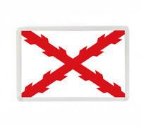 BANDERA CRUZ BORGOÑA FLAG FRIDGE MAGNET IMAN NEVERA
