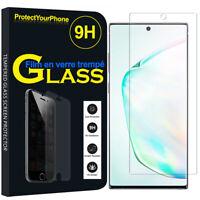 Vitre Protection Écran Film Verre Trempe Samsung Galaxy Note10+ Plus