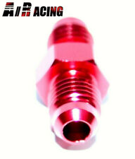-4AN Male to -4AN Male 0 Degree Straight Aluminum Anodized Fitting Adapter Red