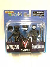 Comic Book Heroes Valiant Ninjak and Shadowman MiniMates Set Diamond