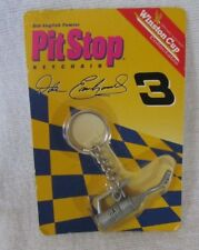 Action PIT STOP DALE EARNHARDT SR #3 GAS CAN FUELER KEY CHAIN ~ Pewter ~ NIP