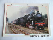 CARTE FICHE TRAIN GR. 685
