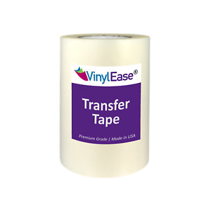 Clear EZ TEAR Transfer Tape for Sign Craft Vinyl in Various Sizes and Widths