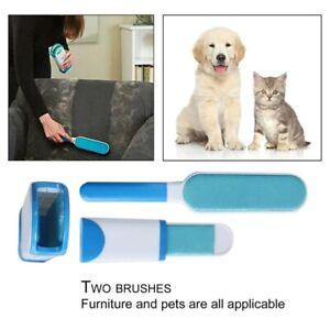 3pcs Set Pet Fur Lint Remover Reusable Hair Fur Cleaning Brush Dog Cat Comb
