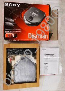SONY Discman D-171 lettore CD Audio portatile completo originale funzionante