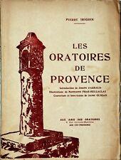 Les oratoires de Provence – Pierre Irigoin
