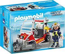 Playmobil City Action Chef des Pompiers avec Voiturette