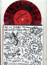 "DISORDER + STAGNATION. 7"" E.P. ""UK vs Japan coloured vinyl.PUNK.strong mind rcds"