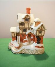 """David Winter """"Ebenezer Scrooge's Counting House"""" In excellent condition, boxed."""