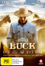 Buck * NEW DVD * Robert Redford (Region 4 Australia)