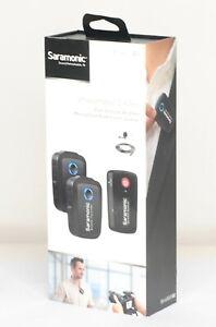 Saramonic Blink 500 B2 Lavalier Microphone Digital Dual Channel Wireless (8181BL