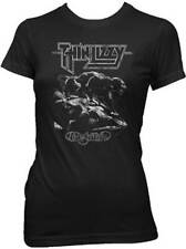 THIN LIZZY - Nightlife Women's T-Shirt - Size Small S - Classic Hard Rock