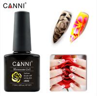 CANNI Blossom Gel Aquarel  Effect Nail Polish Gel Soak Off UV LED FREE Shipping