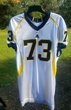 Michigan Wolverines Adidas jersey BEAUTIFUL authentic 46 athletic cut