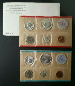 1964 United States Mint P & D Set