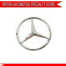 Mercedes Benz Noir Brillant Badge logo Emblème Arrière Coffre Classe C B E S GLK ML 90 mm
