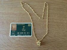Used - Gold Necklace MADONNA DE PORT LLIGAT de DALÍ Collar de Oro - Usado