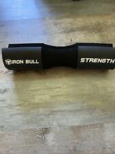 Iron Bull Strength Advanced Squat Pad - Barbell Pad Black