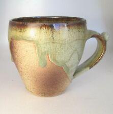 Stoneware Tea Coffee Mug Mega Farmer Rustic AP Handmade Steve Woodhead Ceramics